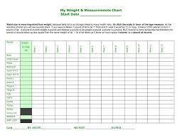 Blank Weight Chart Weight Loss Challenge Chart Template