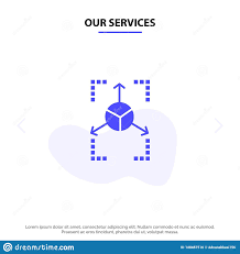Chart Services Our Services Prototype Grid Database Chart Solid Glyph