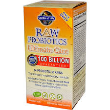garden of life raw probiotics ultimate care 30 veggie caps iherb com