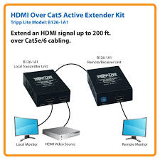 amazon com tripp lite hdmi over cat5 cat6 extender extended view larger