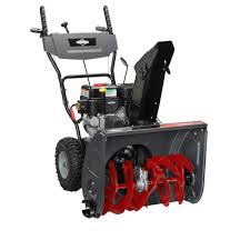 briggs and stratton lawn mower home depot. briggs \u0026 stratton 24 in. dual-stage electric start gas snowthrower and lawn mower home depot e