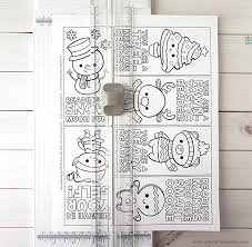 These bookmarks are perfect, no matter what your skill level is. Free Printable Christmas Bookmarks Artsy Fartsy Mama