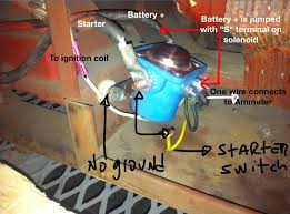 watch more like lincoln g8000 welder wiring diagram the motor starts when boosted the solenoid and the starter switch had