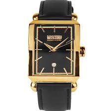 moschino quartz mens fashion analog rose gold plated watch mw0207