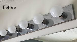 Affordable Bathroom Light Fixtures Diy Industrial Light For Vanity