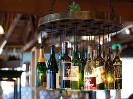 charming bottle chandelier best ideas about wine