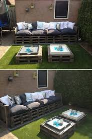 garden furniture made from pallets. need to do this for the back yardgarage 101 diy projects how make your home better place living part pallet patio furniture garden made from pallets