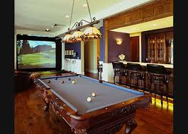 The epitome of a billiards room.