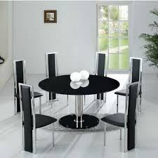 5 modern dining room sets for 6 lovable round dining table for 6 modern round dining