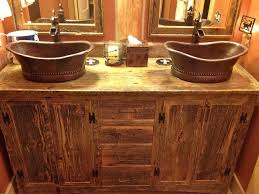 rustic pine bathroom vanities. Rustic Pine Bathroom Vanities Reclaimed Wood Diy Vanity Single Round Bowl Sink Undermount Rectangle Wall I