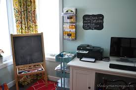 craft room office. Colorful Craft Room Office By The DIY Mommy H