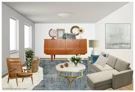 Mid Century Modern Living Room Furniture Brilliant Photos Hgtv For Mid Century Modern Living Room 1474