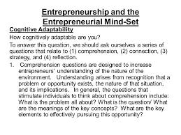 Entrepreneurship Contents Part 1 The Entrepreneurial