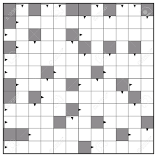 Blank Crossword Template Crossword Blank Crossword Puzzle Pattern Square Format Template 8