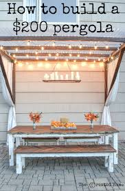 Modified pergola plans. | Woodworking Ideas from BUILDER BLOGGERS ...