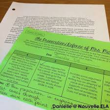 teaching short stories innovate engage nouvelle ela teaching  lamb to the slaughter essay by nouvelle ela at teacherspayteachers com