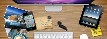 office desk cover. Office Desk Facebook Timeline Cover