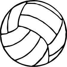 Small Picture Volleyball Ball Coloring Page Wecoloringpage