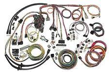 57 chevy wiring harness american auto wire 57 chevy classic wiring harness kit 500434 fits 1957 chevrolet