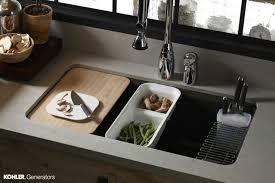 cutting board sink