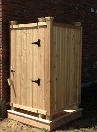 outdoor shower. Outdoor Shower Enclosure Kits Picture