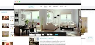 Apartment Website Design Gorgeous Joomla Holiday Apartments Template For Vik Booking Websites