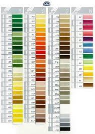 Dmc Coton A Broder 25 Art 107 On Choosing Colors Cross
