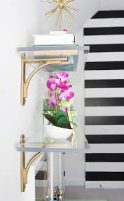 Lucite Floating Shelves Amazing Lucite Floating Shelves Shelfology Heavy Duty Floating Shelf Bracket