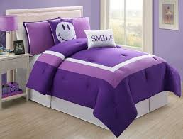 girls twin sheet set 48 kids purple bedding 4 piece girls comforter set purple full