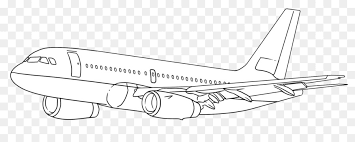 Airplane Drawing How To Draw Airplanes Drawing Art Pencil Airplane Png Download