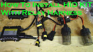 how to install hid kit light relay harness how to install hid kit light relay harness