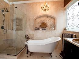 bathroom clawfoot unique bathtubs for small spaces with towel holder single sink under chandelier in