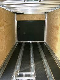 739 x 1639 aluminum enclosed trailer by lightning cargo trailer rubber flooring