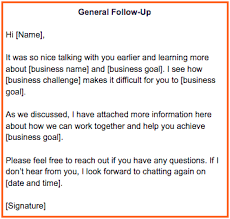 email followup part two art of the sale the perfect follow up email with