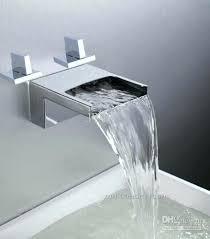 waterfall roman tub faucet amazing of waterfall bathroom faucet waterfall bathtub basin sink spout mixer tap