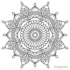 Small Picture Mandala Coloring Pages Pdf Ideal Mandala Coloring Pages Pdf