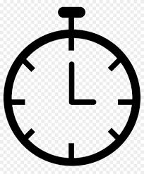 Chronometer Clock Png Icon Timer Clock Transparent White