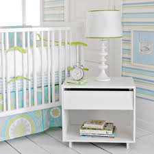 Beach House anyone? This Summer Breeze Crib Bedding is the ultimate beach  house nursery style. With a modern palette of aqua blue, kiwi green and  light gray ...
