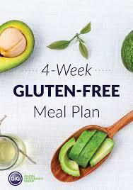 4 Week Gluten Free Meal Plan