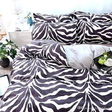 stripe bed set zebra stripe bedding set black white duvet cover bed set single double queen king size bed 300 thread count cotton waffle stripe bed set