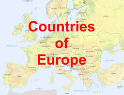 europe map countries. Fine Europe Map Countries Of Europe For Countries O