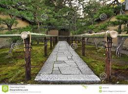 Small Picture Japan Zen Temple Garden Entrance Stone Path Stock Photo Image