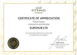 Certificate Of Appreciate Memberships And Certificates Eurosped