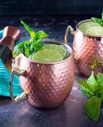 moscow mule with gin fox valley foo