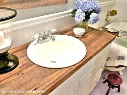 wood countertops nj bathroom reclaimed wood countertops nj wood countertops colts neck nj
