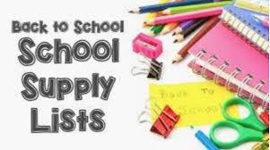Supply Lists – Beaubien Elementary