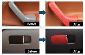 car interior exterior plastic part repair refurbish aerosol paint