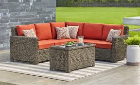 Summer outdoor furniture Romantic Garden Patio Conversation Sets Home Depot Patio Furniture The Home Depot