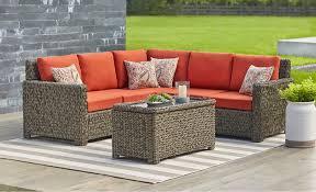 Outdoor furniture set 20 Piece Patio Conversation Sets The Home Depot Patio Furniture The Home Depot