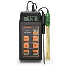 Ph Meter Calibration Portable Ph Mv Meter Hi8424 Hanna Instruments
